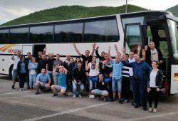 Kthimi nga vizita në Shqipëri me grupin e Raiffeisen Bank