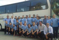 Hendbollistet e reprezentacionit të Kosovës në Rumoni