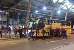 Hendbollistat evropian gjatë vizitës në kosovë