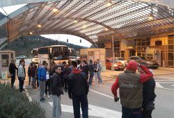 Pamje nga udhëtimi me Don Bosko drejt Romës në kufirin Kroat