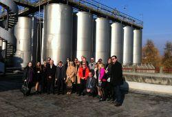 Vizita e biznesmenave shqipëtar nga Amerika